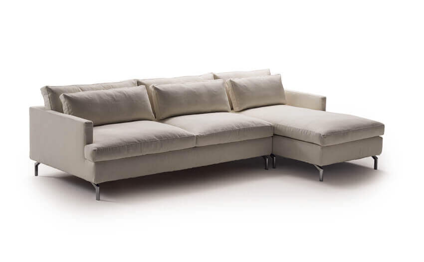 corner sofa bed modern design,seating furniture turns into sleeping piece,milano bedding dave,corner sofa with metal legs,italian design seating for living room,