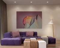 living room decorating ideas, living room decor, art, artwork, modern art, art ideas, art in interior design, art collection, artistic interior, design inspiration, design ideas, interior design, interior design ideas