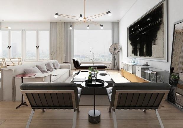 Design Inspirations Artwork Modern Living Room 241