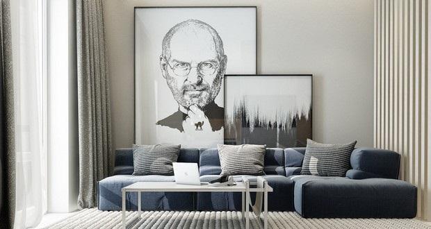 Superbe Steve Jobs,art,artwork,art Ideas,living Room,living Room Ideas