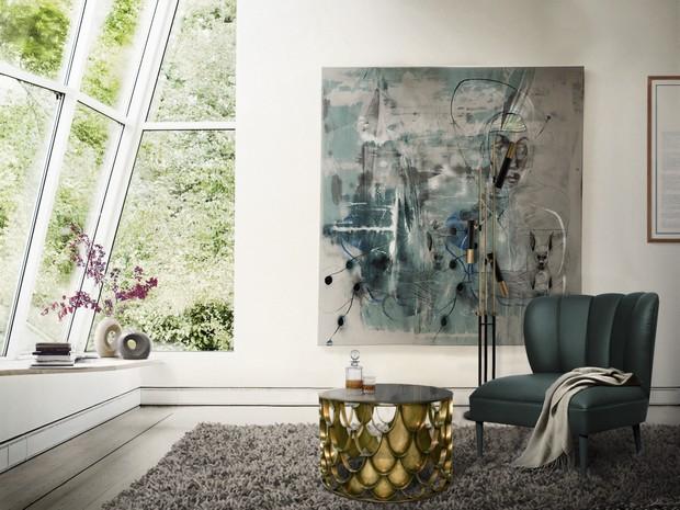 Design Inspirations U2013 Artwork For Your Modern Living Room
