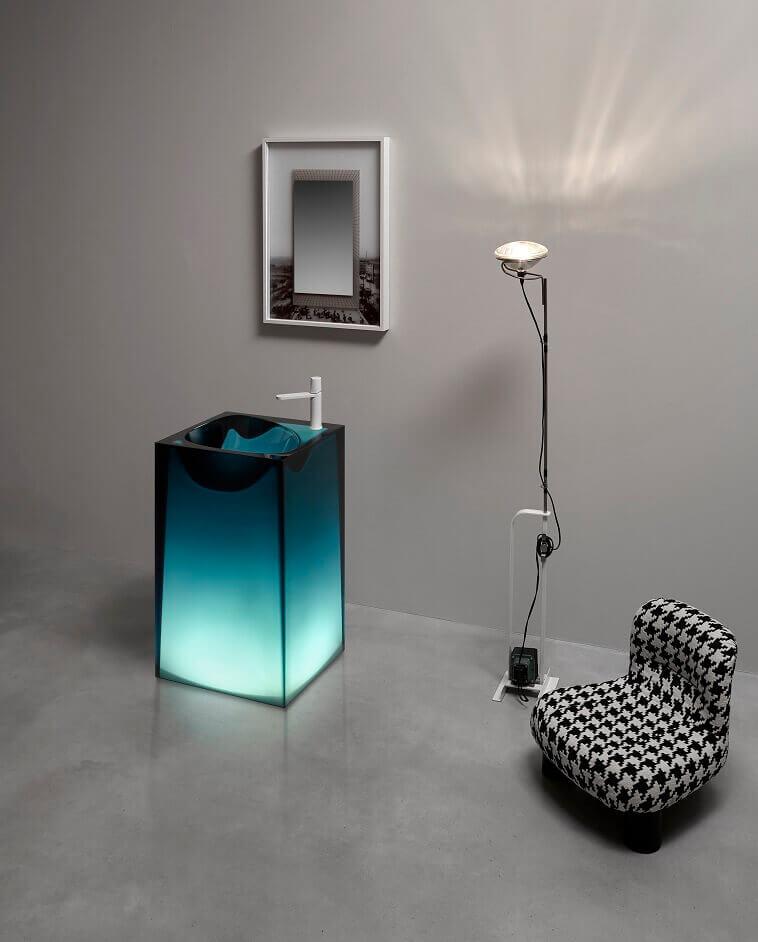 blue bathroom sink unit,blue sink with led lights,water inspired bathrooms,wash basin designs for small bathrooms,wash basin light led,