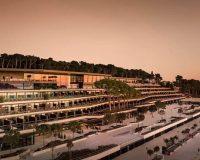 grand park hotel rovinj arhitekt,modern architecture hotel design,luxury hotels in croatia,green roof landscape architecture,modern croatia hotel,
