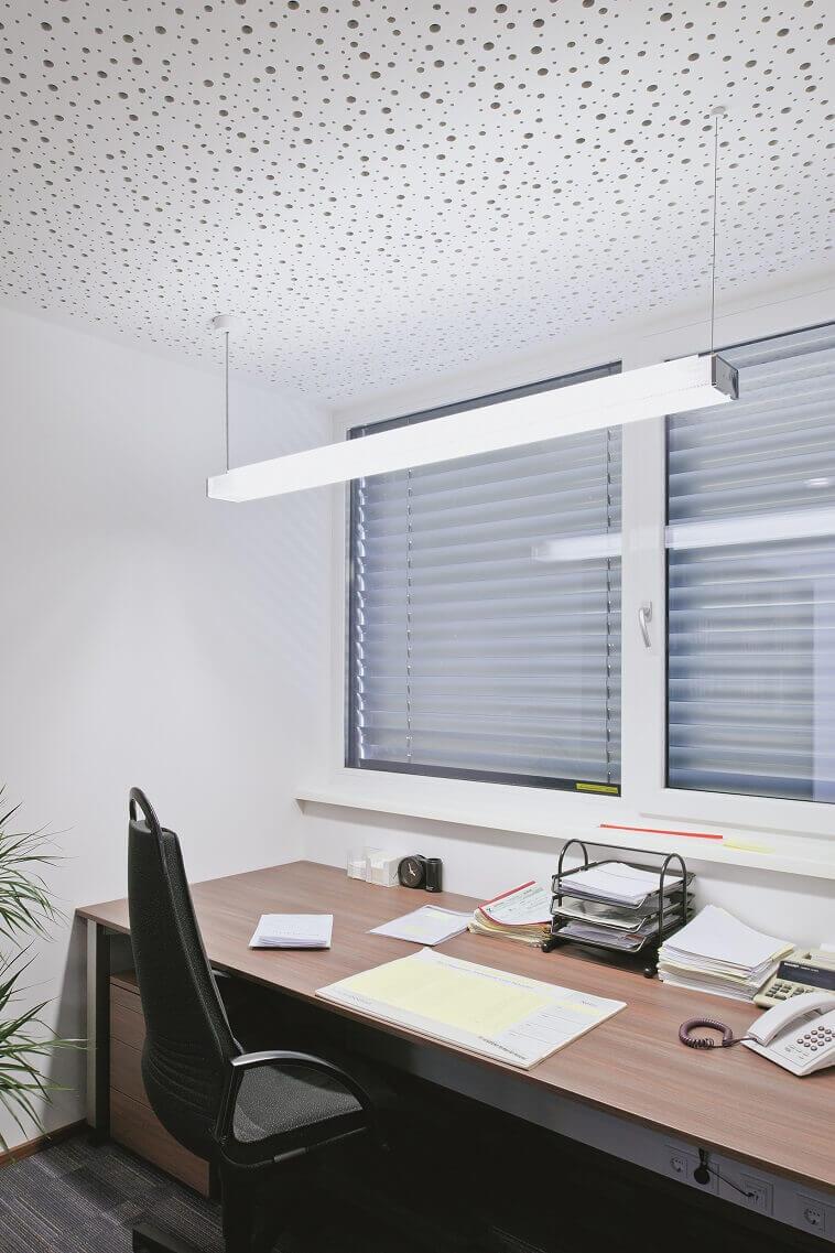 lighting tips for home office,modern home office lighting ideas,zumtobel lighting,pendant light above work desk,modern office design ideas,
