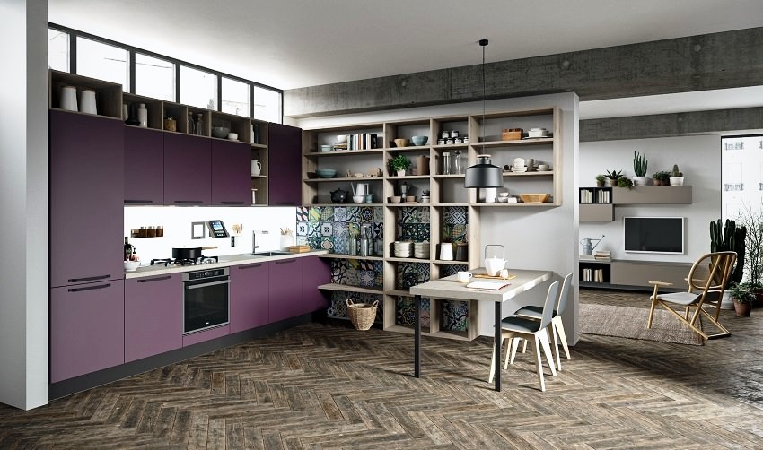 violet kitchen,violet kitchen cabinets,purple kitchen,purple kitchen cabinets,kitchen decor colors,kitchen decor,luxury kitchen,luxury kitchen ideas,kitchen design,Italian furniture brands,italian kitchen design,italian kitchen,modern kitchen appliances,kitchen decor ideas,modern kitchen decor,high end kitchen design,high end kitchen,high end kitchen ideas,