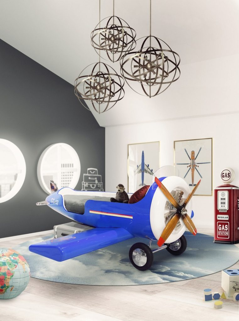 Kids Room Design Ideas Sky Collection for Little Pilots Archi