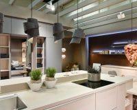kitchen design trends 2019,furniture design trends,imm cologne,white kitchen ideas,modern kitchen lighting ideas,