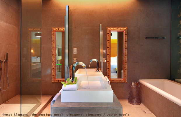 luxury bathroom mirrors,classic mirror in modern bathroom,oriental hotel bathroom,high end hotel furniture,best design hotels asia,