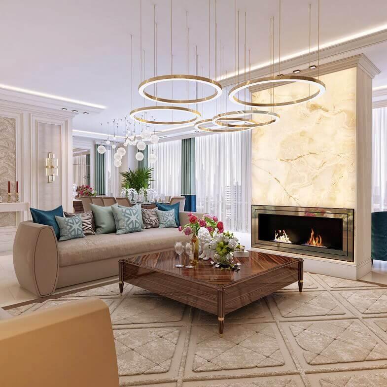 Italian Style in Luxury Apartment Design in Kazakhstan ...
