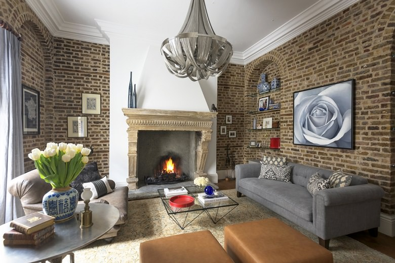 Interior Design Project Eclectic and Artistic London Townhouse
