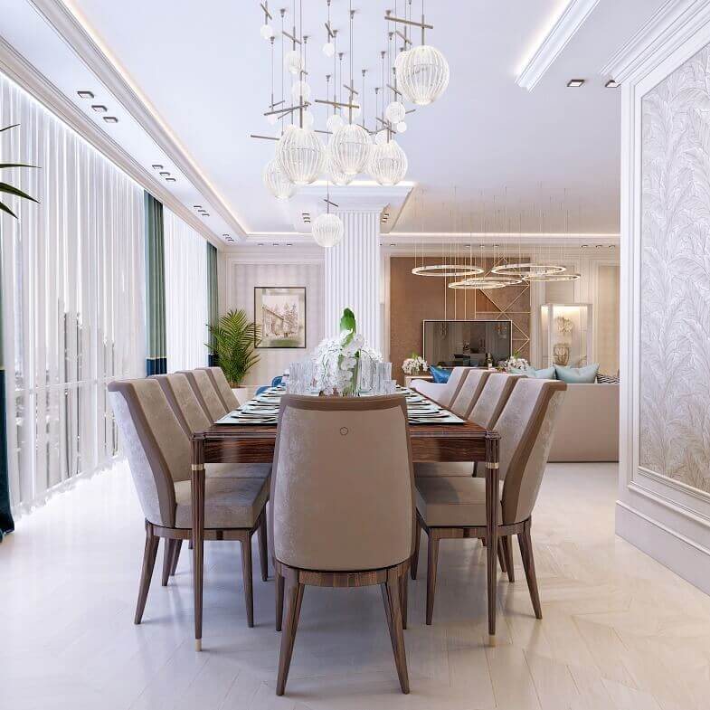 high end dining room table and chairs,top italian luxury furniture brands,dining room chandelier ideas,designer apartment kazakhstan,upholstered dining chairs beige,
