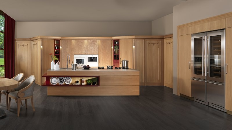 Aria, The New Kitchen Design Concept From Martini Mobili