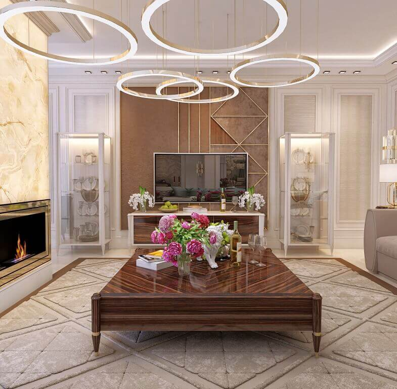 luxury tv stands furniture,high end italian brand,round golden lamps,luxury lighting ideas,interior design magazines,