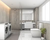 tiles in bathroom design,how to choose bathroom floor and wall tiles,how to choose bathroom flooring,laundry room design ideas,laundry room wall ideas,