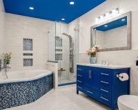 blue and white bathroom decorating ideas,tiles in bathroom design,how to choose bathroom floor and wall tiles,how to choose bathroom flooring,white and blue bathroom furniture,