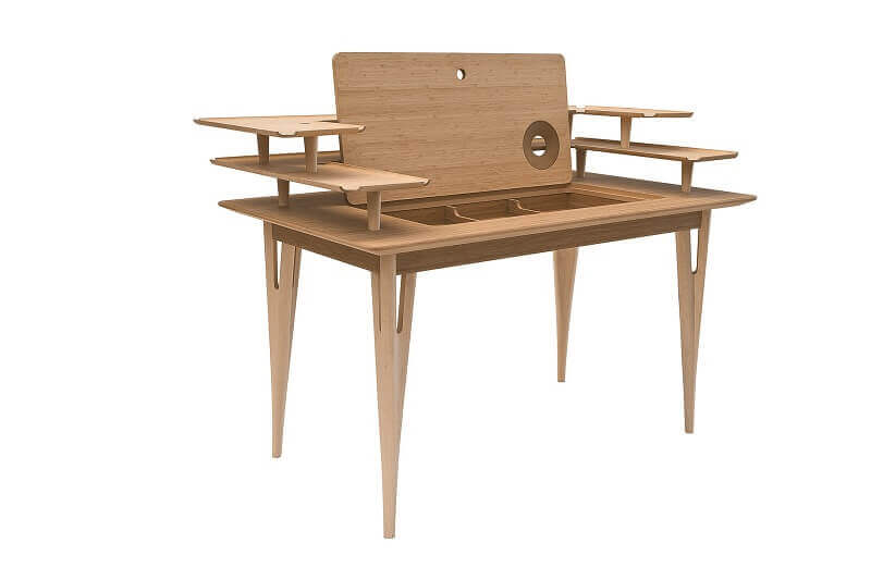 Victor Writing Desk Designed By Mario Airò From Adele C Home Office