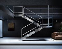 designer stairs for houses,stainless steel staircase design,fontanot treppen,contemporary italian stairs,high end staircase design,