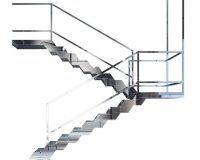 stainless steel and marble stairs,staircase design steel railing,italian modular staircase,designer staircase railings,fontanot scale interne,