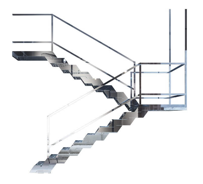 designer staircase railings,fontanot scale interne,stainless steel and marble stairs,staircase design steel railing,italian modular staircase,
