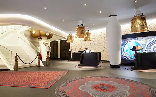 Kameha grand zurich hotel by marcel wanders archi for Interior design zurich