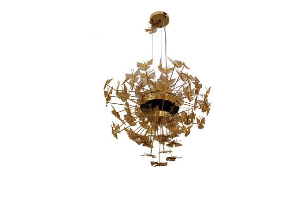 luxury gold chandelier,butterfly chandelier light,high end lighting ideas,butterfly lamp design,luxury lighting brands,