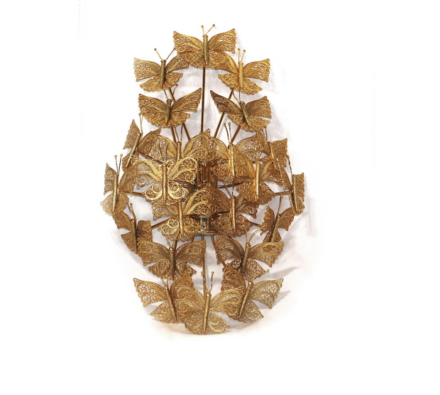 luxury gold sconce,butterfly sconce light,high end lighting ideas,butterfly lamp design,luxury lighting brands,