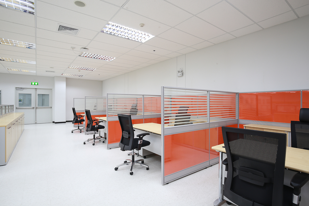 office design with partition