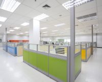 green office interior design ideas,modern workplace trends,yellow office cubicles,workplace color schemes,workplace office cubicles,