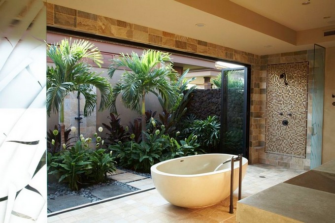 Tropical Bathroom Ideas