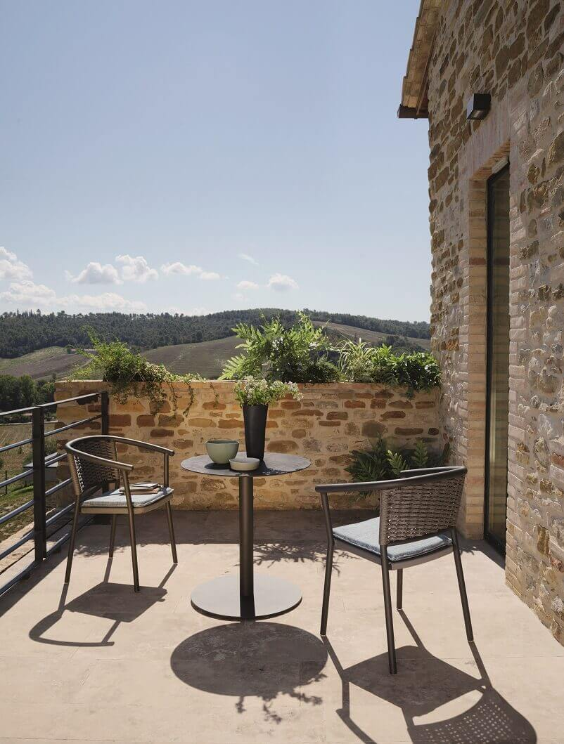 outdoor terrace decorating ideas,creating a relaxing outdoor space,dining table for small balcony,small balcony furniture ideas,designer outdoor furniture ideas,