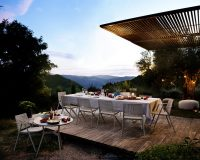 dining furniture,dining room furniture,outdoor dining room,outdoor,outdoor furniture,designer furniture,garden design,design,garden furniture,tribu,hospitality design,hospitality,hotel design,outdoor furniture ideas,designer,Lievore Altherr Molina,high end furniture,table and chairs,restaurant furniture,luxury dining room design,luxury dining room,