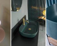 pink washbasin ceramic,green bathroom sink ceramic,blue ceramic bathroom sink unit,washbasins inspired by nature,italian bathroom manufacturers,