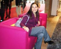 Danica Maricic,pink designer furniture,pink living room ideas,milano design week events,modern living room ideas,