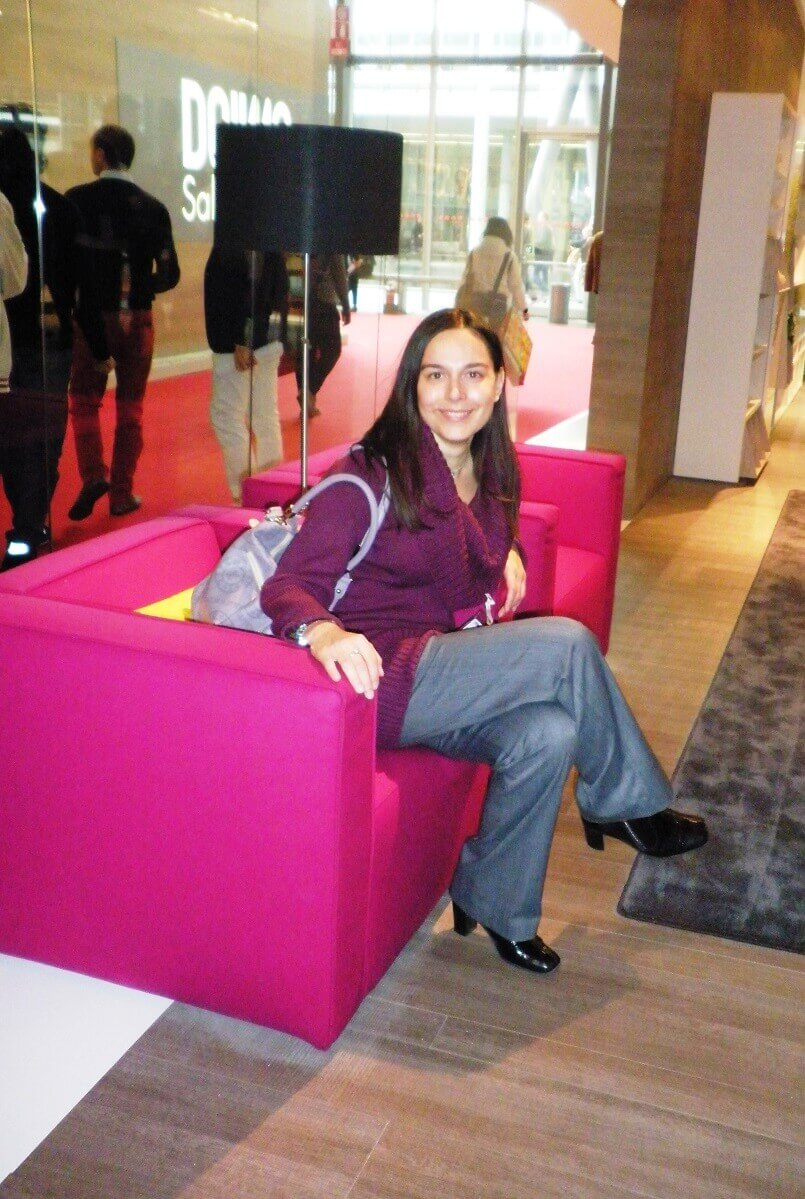 Danica Maricic,pink furniture living room,fuchsia color furniture,colorful sofa ideas,salone del mobile in milan,