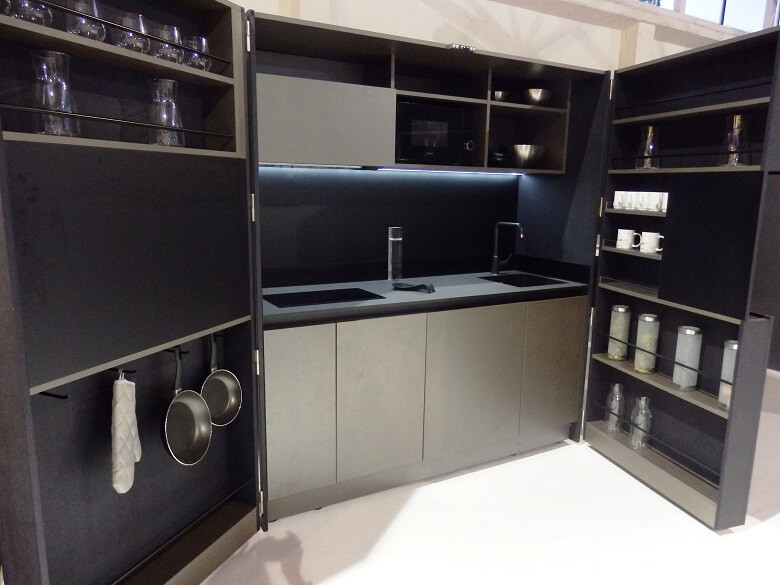 compact designer kitchens,kitchen designs for small places,small modern kitchen,awarded kitchen design,croatian kitchen designers,