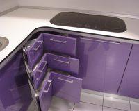 violet kitchen,violet kitchen cabinets,purple kitchen,purple kitchen cabinets,kitchen decor colors,kitchen decor,luxury kitchen,luxury kitchen ideas,kitchen design