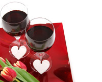romantic table decorations for two,red wine romantic images,