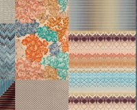 Missoni,MissoniHome,T&J Vestor Italy,fabric,decorative fabric,curtains,decorative curtains,decorative pillows,upholstery,upholstery design,upholstery fabric,upholstery fabric ideas,upholstery ideas,upholstered furniture,house decorating ideas, trendy colors,blue color,orange color,complementary colors,
