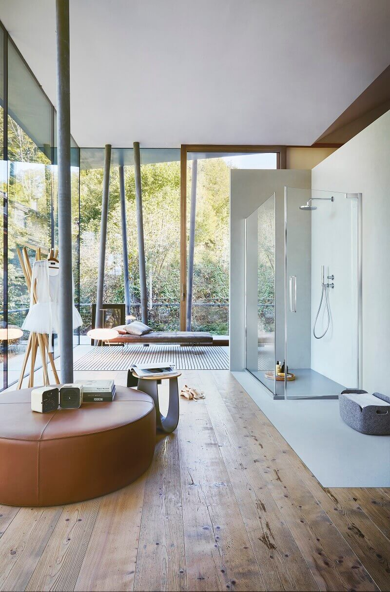 bathroom with a view,shower enclosure door hinges,designer bathroom ideas,shower cabin design,Italian glass door manufacturer,