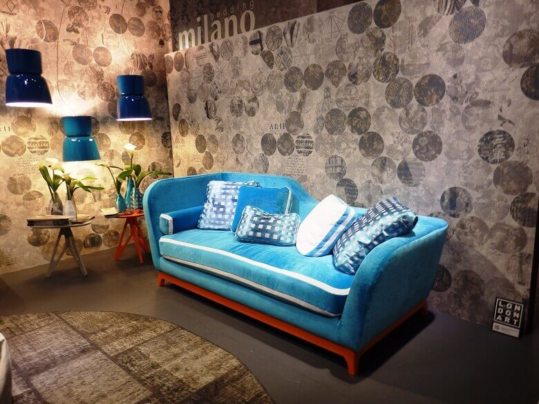 blue sofa living room ideas,trendy sofa design,designer seating furniture,living room with blue furniture,salone del mobile in milan,