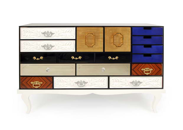 modern colorful sideboard,storage furniture for living room,drawers for luxury living room,soho large sideboard,sideboard with multiple drawers,
