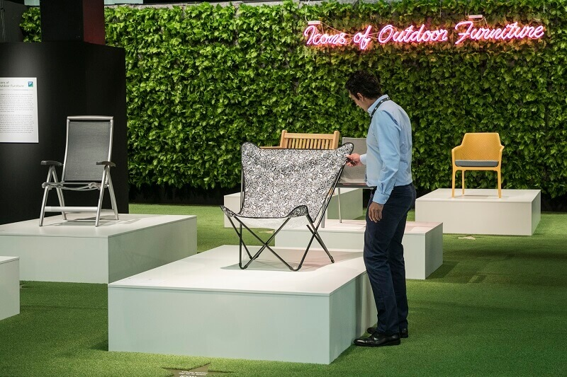 iconic chairs of all time,famous outdoor furniture brands,trade shows germany 2019,trendy outdoor chairs,design trends,