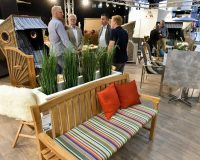 outdoor furniture color trends 2019,parasol design trends,gardening trade shows 2019,spoga gafa design trends,orange decorative cushions,