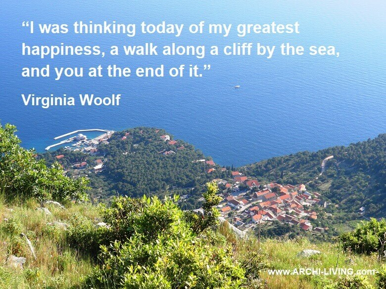 romantic quotes for him,a view from st nicholas,sveti nikola hvar,greatest happiness quotes,virginia woolf quotes love,