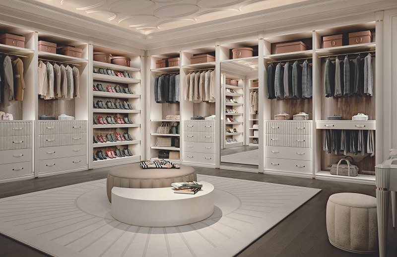 Walk in closet ideas ellipse by francesco pasi archi - Pictures of walk in closets ...
