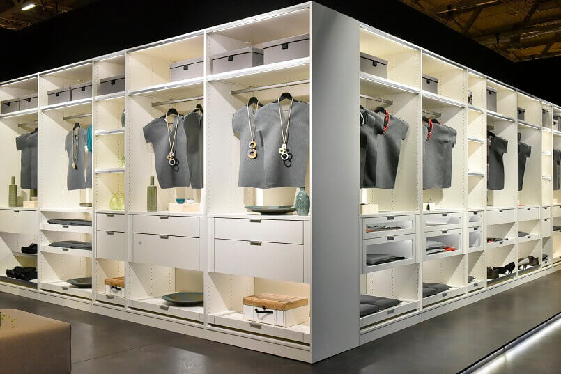 wardrobe design ideas,interior design trends 2019,imm cologne Germany,bedroom design trends,storage design inspiration,