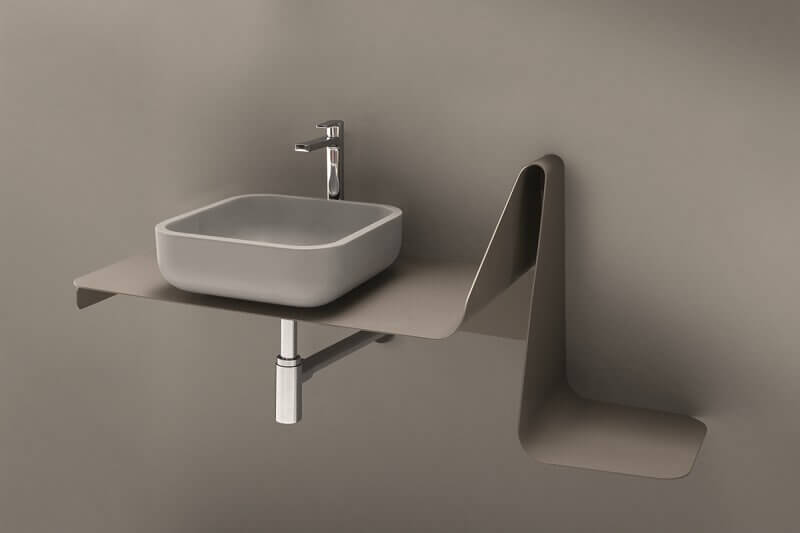 contemporary wash basin stands,square wash basin designs,neutral palette interior design,neutral tones bathroom,modern bathrooms,