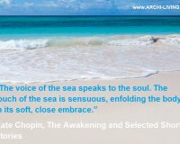 the voice of the sea speaks to the soul,romantic sea love quotes,kate chopin quotes the awakening,inspirational quotes about the sea,white sand beach turquoise sea,
