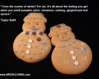 taylor swift quotes food,winter scents food quotes,gingerbread cookies with frosting,gingerbread snowman cookies,snowman inspired food,