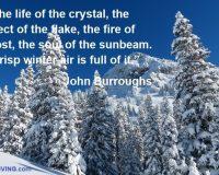winter inspirational quotes,John Burroughs quotes,snow winter images,photo quotes,winter season photos,